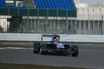 World © Octane Photographic Ltd. GP3 Testing - Wednesday 3rd April 2013 Dallara GP3/13 - Silverstone. Carlin – Eric Lichenstein. Digital ref : 0627lw1d0692