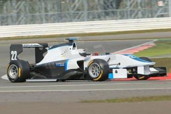 World © Octane Photographic Ltd. GP3 Testing - Wednesday 3rd April 2013 Dallara GP3/13 - Silverstone. Bamboo Engineering – Carmen Jorda. Digital ref : 0627lw1d0945