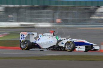 World © Octane Photographic Ltd. GP3 Testing - Wednesday 3rd April 2013 Dallara GP3/13 - Silverstone. Trident – Giovanni Venturini. Digital ref : 0627lw7d4016