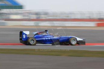 World © Octane Photographic Ltd. GP3 Testing - Wednesday 3rd April 2013 Dallara GP3/13 - Silverstone. Carlin – Eric Lichenstein. Digital ref : 0627lw7d4106