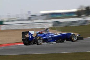 World © Octane Photographic Ltd. GP3 Testing - Wednesday 3rd April 2013 Dallara GP3/13 - Silverstone. Carlin – Eric Lichenstein. Digital ref : 0627lw7d4164