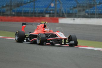 World © Octane Photographic Ltd. GP3 Testing - Thursday 4th April 2013 Dallara GP3/13 - Silverstone. Marussia Manor Racing – Nick Cassidy. Digital ref : 0628lw1d1263