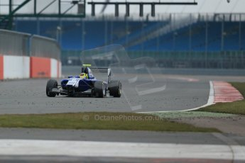 World © Octane Photographic Ltd. GP3 Testing - Thursday 4th April 2013 Dallara GP3/13 - Silverstone. Carlin – Nick Yelloly. Digital ref : 0628lw1d1520