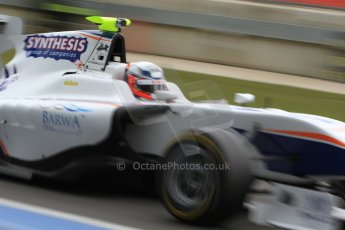 World © Octane Photographic Ltd. GP3 Testing - Thursday 4th April 2013 Dallara GP3/13 - Silverstone. Trident – David Fumanelli. Digital ref :