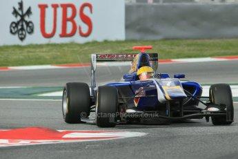World © Octane Photographic Ltd. GP3 Qualifying - Saturday 11th May 2013 Dallara GP3/13 - Circuit de Catalunya. Carlin – Luis Sa Silva. Digital ref : 0669cb1d0329