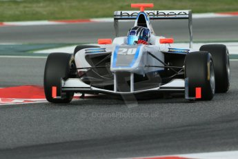 World © Octane Photographic Ltd. GP3 Qualifying - Saturday 11th May 2013 Dallara GP3/13 - Circuit de Catalunya. Bamboo Engineering – Lewis Williamson. Digital ref : 0669cb1d0390