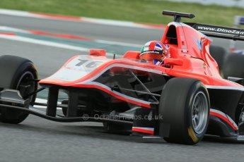 World © Octane Photographic Ltd. GP3 Qualifying - Saturday 11th May 2013 Dallara GP3/13 - Circuit de Catalunya. Marussia Manor Racing – Dino Zamparelli. Digital ref : 0669cb1d0487