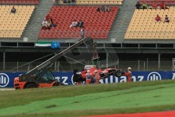 World © Octane Photographic Ltd. GP3 Qualifying - Friday 11th May 2013 Dallara GP3/13 - Circuit de Catalunya. Marussia Manor Racing – Ryan Cullen. Digital ref : 0669cb1d0677