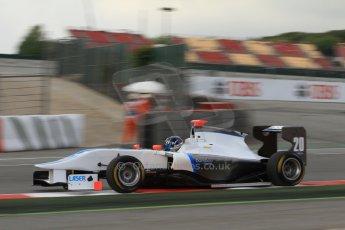 World © Octane Photographic Ltd. GP3 Qualifying - Saturday 11th May 2013 Dallara GP3/13 - Circuit de Catalunya. Bamboo Engineering – Lewis Williamson. Digital ref : 0669cb7d9075