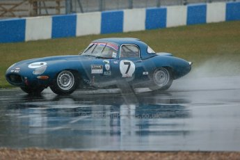 World © Octane Photographic Ltd. Donington Park 80th Anniversary Meeting (March 1933 – March 2013). HSCC Guards Trophy Car Championship supported by Dunlop Tyres. Jaguar E-Type. Digital Ref :