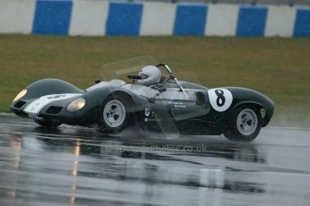 World © Octane Photographic Ltd. Donington Park 80th Anniversary Meeting (March 1933 – March 2013). HSCC Guards Trophy Car Championship supported by Dunlop Tyres. Gary Wright – Elva Mk8. Digital Ref : 0600lw1d5989