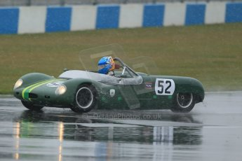 World © Octane Photographic Ltd. Donington Park 80th Anniversary Meeting (March 1933 – March 2013). HSCC Guards Trophy Car Championship supported by Dunlop Tyres. Neil Daws/George Daws – Merlyn 6A. Digital Ref : 0600lw1d6022