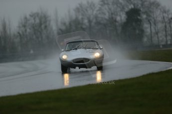 World © Octane Photographic Ltd. Donington Park 80th Anniversary Meeting (March 1933 – March 2013). HSCC Guards Trophy Car Championship supported by Dunlop Tyres. Robert Farrell – Jaguar E-Type. Digital Ref : 0600lw1d6075