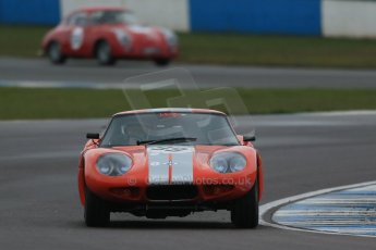 World © Octane Photographic Ltd. Donington Park 80th Anniversary Meeting (March 1933 – March 2013). HSCC Historic Road Sports Championship supported by Witchampton Garage (Inc. Class B2 Guards Trophy), morning practice and qualifying. Chris Keen – Marcos 160GT. Digital Ref : 0599lw1d5364