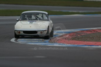 World © Octane Photographic Ltd. Donington Park 80th Anniversary Meeting (March 1933 – March 2013), morning practice and qualifying. HSCC Historic Road Sports Championship supported by Witchampton Garage (Inc. Class B2 Guards Trophy). Peter Shaw – Lotus Elan S1. Digital Ref :