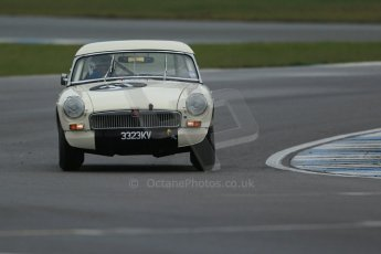 World © Octane Photographic Ltd. Donington Park 80th Anniversary Meeting (March 1933 – March 2013). HSCC Historic Road Sports Championship supported by Witchampton Garage (Inc. Class B2 Guards Trophy), morning practice and qualifying. Steve Naish – MGB. Digital Ref : 0599lw1d5475