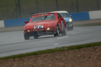 World © Octane Photographic Ltd. Donington Park 80th Anniversary Meeting (March 1933 – March 2013). HSCC 70s Road Sport Championship (Inc. Class B2 Guards Trophy). Brian Jarvis – Porsche 924. Digital Ref : 0590lw1d6166