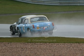 World © Octane Photographic Ltd. Donington Park 80th Anniversary Meeting (March 1933 – March 2013). HSCC 70s Road Sport Championship (Inc. Class B2 Guards Trophy). Julian Barter – TVR 3000M and Colin Kingsworth/Edd Horder – MGB. Digital Ref : 0590lw1d6289
