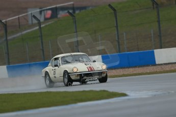 World © Octane Photographic Ltd. Donington Park 80th Anniversary Meeting (March 1933 – March 2013). HSCC 70s Road Sport Championship (Inc. Class B2 Guards Trophy). Luke Clake-Bagnall – Triumph GT6. Digital Ref : 0590lw1d6305