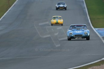 World © Octane Photographic Ltd. Donington Park 80th Anniversary Meeting (March 1933 – March 2013). HSCC Guards Trophy Car Championship supported by Dunlop Tyres. Mike Whitaker – TVR Griffith. Digital Ref : 0597lw1d7553