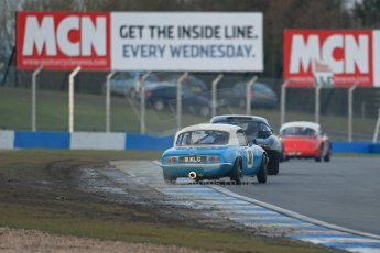 World © Octane Photographic Ltd. Donington Park 80th Anniversary Meeting (March 1933 – March 2013). HSCC Guards Trophy Car Championship supported by Dunlop Tyres. Mark Halstead/Stuart McPherson – Lotus Elan S1. Digital Ref : 0597lw1d7572