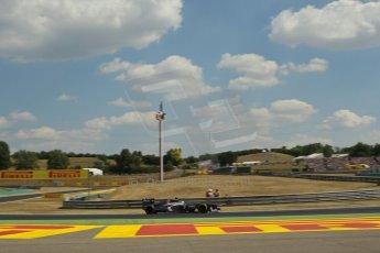 World © Octane Photographic Ltd. F1 Hungarian GP - Hungaroring. Friday 26th July 2013. F1 Practice 2. Sauber C32 - Esteban Gutierrez. Digital Ref : 0760lw1d0645