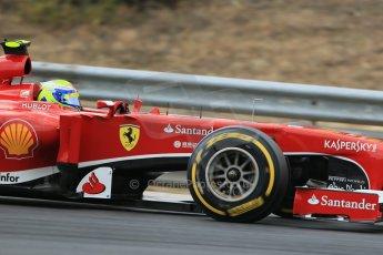World © Octane Photographic Ltd. F1 Hungarian GP - Hungaroring. Saturday 27th July 2013. F1 Qualifying. Scuderia Ferrari F138 - Felipe Massa. Digital Ref : 0764lw1d4099
