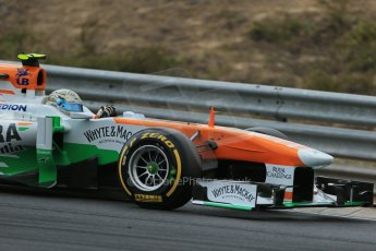 World © Octane Photographic Ltd. F1 Hungarian GP - Hungaroring. Saturday 27th July 2013. F1 Qualifying. Sahara Force India VJM06 - Adrian Sutil. Digital Ref : 0764lw1d4278