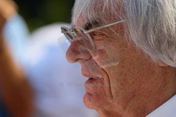 World © Octane Photographic Ltd. F1 Hungarian GP - Hungaroring, Saturday 27th July 2013 - Paddock. Bernie Ecclestone. Digital Ref : 0762lw1d0733