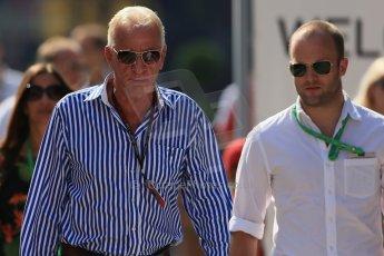 World © Octane Photographic Ltd. F1 Hungarian GP - Hungaroring, Saturday 27th July 2013 - Paddock. John Button. Digital Ref : 0762lw1d2968