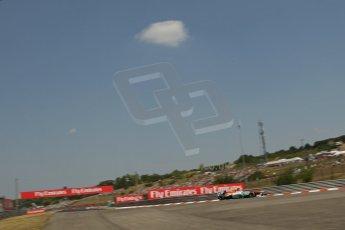 World © Octane Photographic Ltd. F1 Hungarian GP - Hungaroring, Saturday 27th July 2013 - Practice 3. Sahara Force India VJM06 - Paul di Resta. Digital Ref : 0763lw1d1105