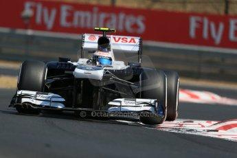 World © Octane Photographic Ltd. F1 Hungarian GP - Hungaroring, Saturday 27th July 2013 - Practice 3. Williams FW35 - Valtteri Bottas. Digital Ref : 0763lw1d3096