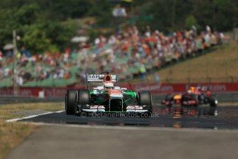 World © Octane Photographic Ltd. F1 Hungarian GP - Hungaroring, Saturday 27th July 2013 - Practice 3. Sahara Force India VJM06 - Paul di Resta. Digital Ref : 0763lw1d3456