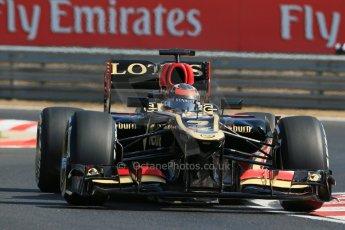 World © Octane Photographic Ltd. F1 Hungarian GP - Hungaroring. Thursday. 25th July 2013. F1 Practice 1. Lotus F1 Team E21 - Kimi Raikkonen. Digital Ref : 0758lw1d0832