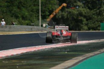 World © Octane Photographic Ltd. F1 Hungarian GP - Hungaroring. Friday 26th July 2013. F1 Practice 1. Scuderia Ferrari F138 - Felipe Massa. Digital Ref : 0758lw1d1128