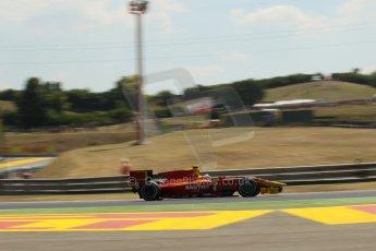 World © Octane Photographic Ltd. GP2 Hungarian GP, Hungaroring, Friday 26th July 2013. Practice. Fabio Leimer- Racing Engineering. Digital Ref: 0759lw1d0529