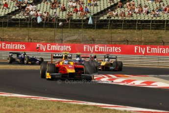 World © Octane Photographic Ltd. GP2 Hungarian GP, Hungaroring, Saturday 27th July 2013. Race 1. Digital Ref : 0765lw1d1261