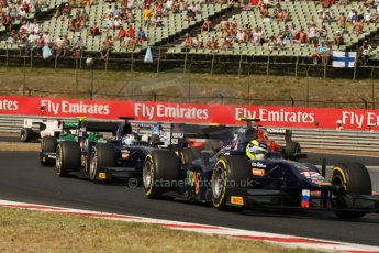 World © Octane Photographic Ltd. GP2 Hungarian GP, Hungaroring, Saturday 27th July 2013. Race 1. Digital Ref : 0765lw1d1278