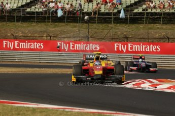 World © Octane Photographic Ltd. GP2 Hungarian GP, Hungaroring, Saturday 27th July 2013. Race 1. Digital Ref : 0765lw1d1332