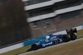 World © Octane Photographic Ltd. Masters Testing – Thursday 4th April 2013. FIA Masters Historic Formula One Championship. Digital ref : 0629ce1d0386