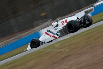 World © Octane Photographic Ltd. Masters Testing – Thursday 4th April 2013. FIA Masters Historic Formula One Championship. Digital ref : 0629ce1d0450