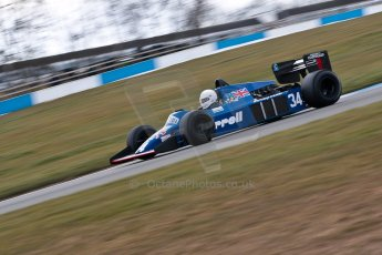 World © Octane Photographic Ltd. Masters Testing – Thursday 4th April 2013. FIA Masters Historic Formula One Championship. Digital ref : 0629ce1d0462
