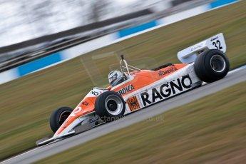 World © Octane Photographic Ltd. Masters Testing – Thursday 4th April 2013. FIA Masters Historic Formula One Championship. Arrows A4. Digital ref : 0629ce1d0476