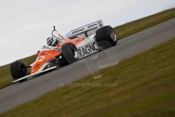 World © Octane Photographic Ltd. Masters Testing – Thursday 4th April 2013. FIA Masters Historic Formula One Championship. Arrows A4. Digital ref : 0629ce1d0520