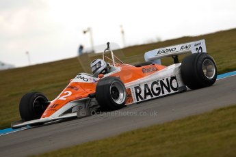 World © Octane Photographic Ltd. Masters Testing – Thursday 4th April 2013. FIA Masters Historic Formula One Championship. Arrows A4. Digital ref : 0629ce1d0523
