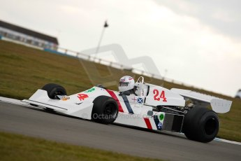 World © Octane Photographic Ltd. Masters Testing – Thursday 4th April 2013. FIA Masters Historic Formula One Championship. Digital ref : 0629ce1d0567