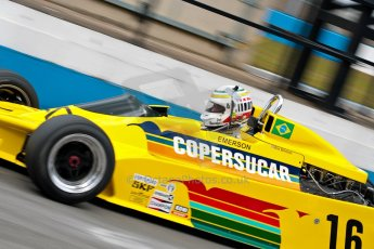 World © Octane Photographic Ltd. Masters Testing – Thursday 4th April 2013. FIA Masters Historic Formula One Championship.  Bob Berridge. Ex-Emerson Fittipaldi F5A2. Digital ref : 0629ce1d0698