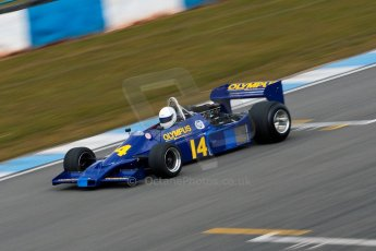 World © Octane Photographic Ltd. Masters Testing – Thursday 4th April 2013. FIA Masters Historic Formula One Championship. Digital ref : 0629ce1d0749