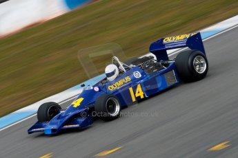 World © Octane Photographic Ltd. Masters Testing – Thursday 4th April 2013. FIA Masters Historic Formula One Championship. Digital ref : 0629ce1d0750