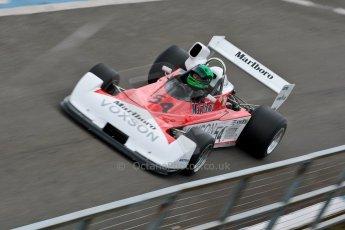 World © Octane Photographic Ltd. Masters Testing – Thursday 4th April 2013. FIA Masters Historic Formula One Championship. Martin Stretton. Digital ref : 0629ce1d0831